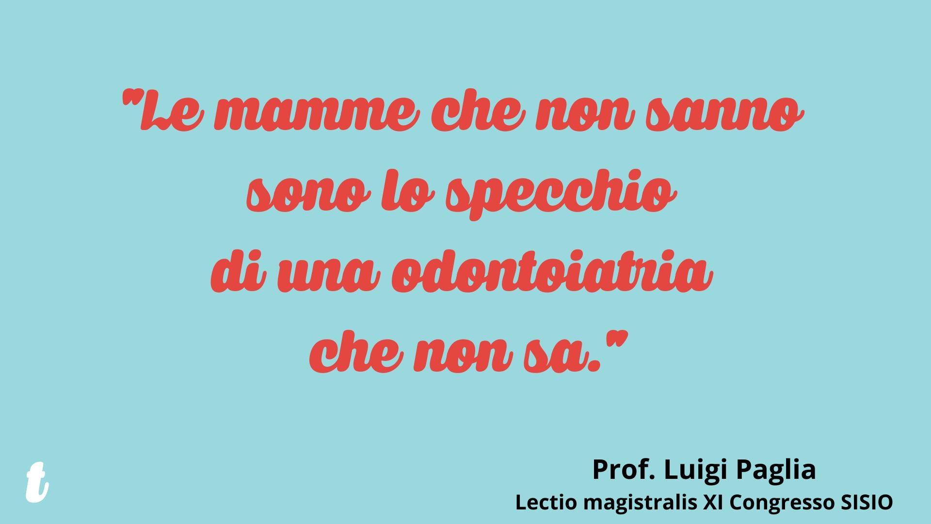 Prof Luigi Paglia